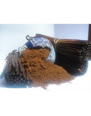 vanille en poudre sambavanilla