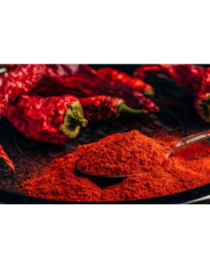 grounded red chili