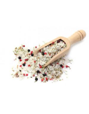 Fleur de sel poivre et baies rose