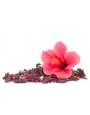 fleurs d'hibiscus séchée