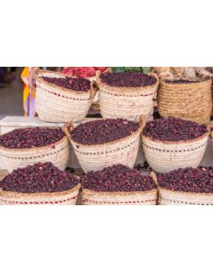 dried hibiscus flowers from Sambavanilla