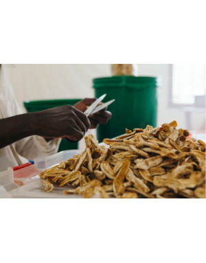 dried bananas from Madagascar