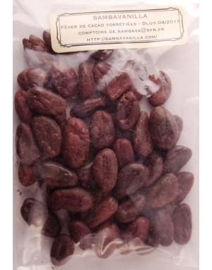 fèves de cacao sambavanilla