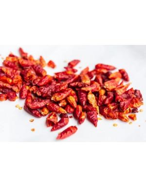 Piments entiers pili pili rouge de Madagascar
