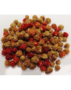 Whole Majungais dried chili peppers