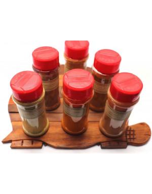 vanille en poudre et fleurs de sel aromatisées