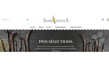New website for SAMBAVANILLA