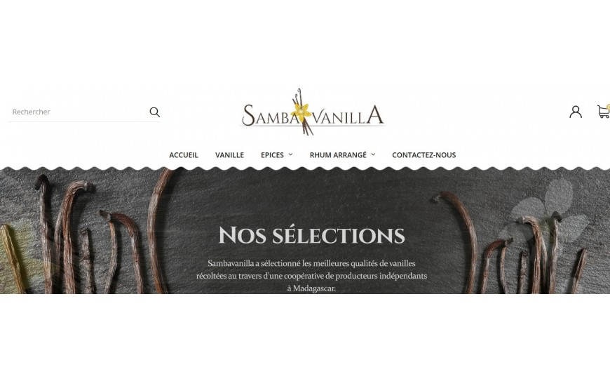 New website for SAMBAVANILLA